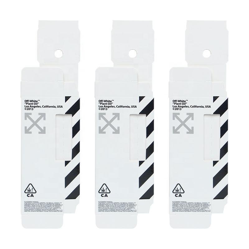 Di alta Qualità Usa E Getta Penna Vape Personalizzato 1 ml CBD Confezione Della Cartuccia