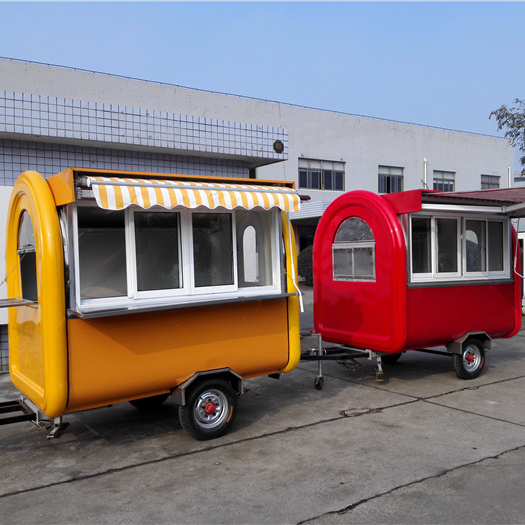 Hot Selling Street Vending Carts/Food truck for sale in china Mobile Fast Kiosk/Fast Mobile Food Trailer