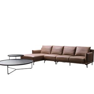 イタリアのデザイナー格安ホーム革リビングルームの家具現代のオンライン