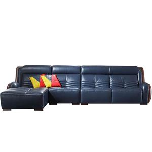 Apartamento couro usado kuka sex móveis em forma de l conjunto de sofá de couro rústico clássico itália estilo