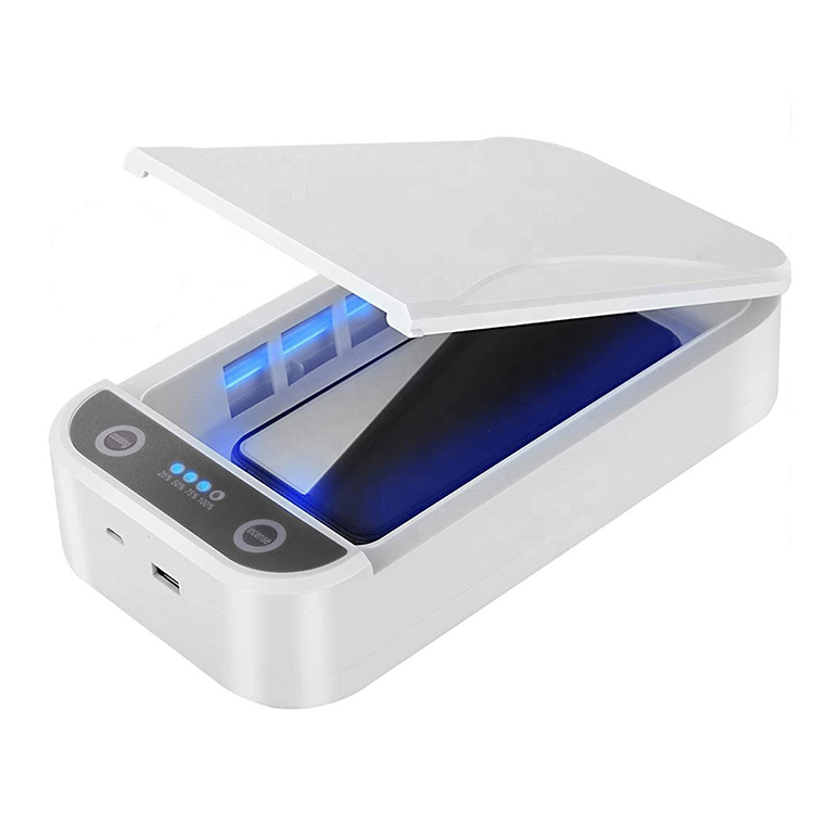 Cabinet Clean Light Ultraviolet Disinfection Cell Phone Portable UVC <span class=keywords><strong>UV</strong></span> Sterilizer Box