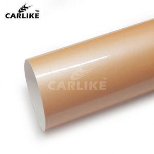 CARLIKE CL-MA-09 Macaron Korallen Zinnober Neue Auto Auto Wrap
