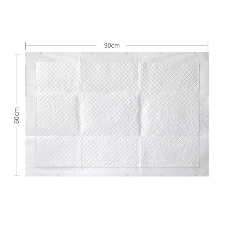 Di qualità superiore su misura a buon mercato stampato super assorbente usa e getta underpad per le donne degli uomini
