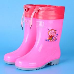 安い靴ハンター防水カスタマイズされたグリッターゴム子供ベビーキッズ Pvc ガーデン雨ブーツ