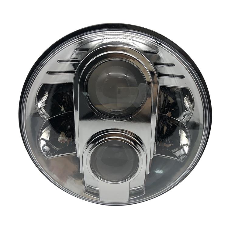 80W proyector LED faro Punto de 7 pulgadas ronda faros LED DRL 7