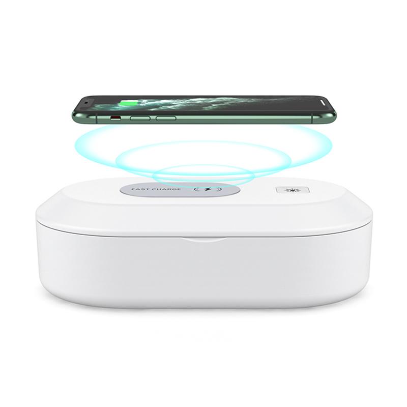 365nm УФ led отверждения свет uvc телефон Портативный стерилизатор коробка УФ свет дезинфекция коробка