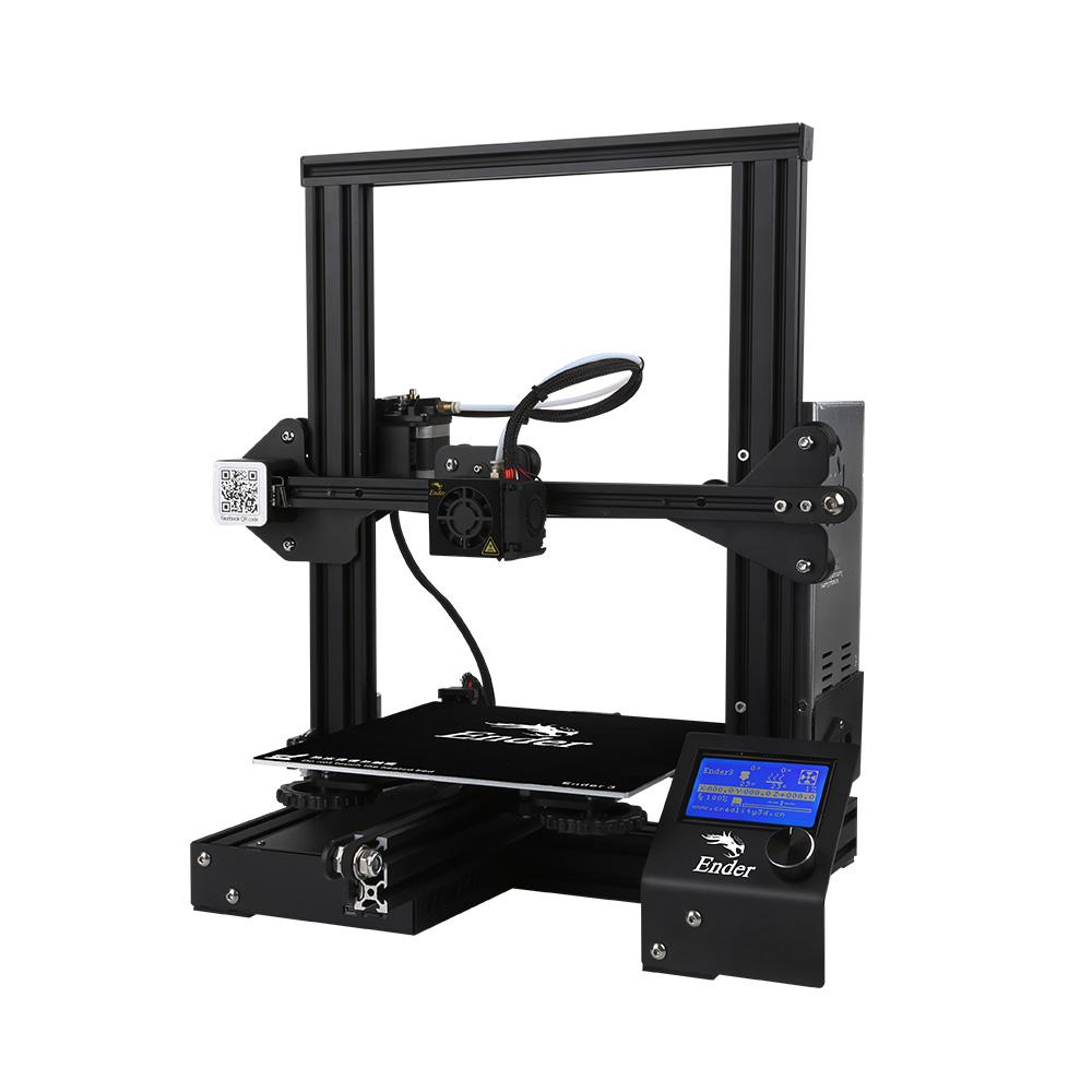 Original Creality Ender-3 220*220*250mm I3 ABS PLA impresión DIY <span class=keywords><strong>3D</strong></span> impresora
