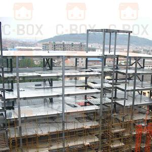 Luz estrutura do aço resistente do terremoto edifícios de escritório para venda