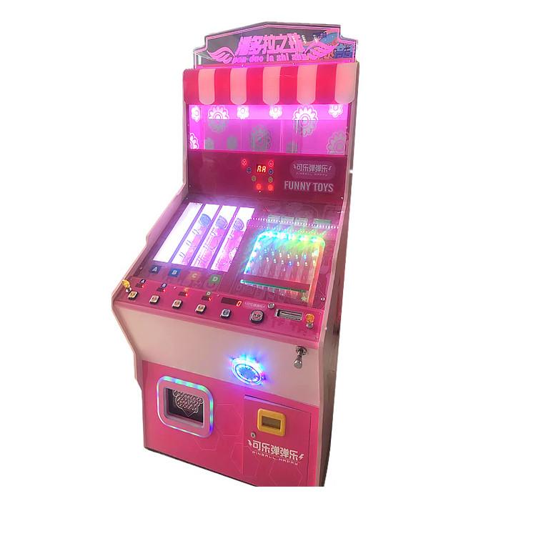 Высокое качество Открытый Мини Взрослых игрушка Монета работает Аркада билет выкуп пинбол машина