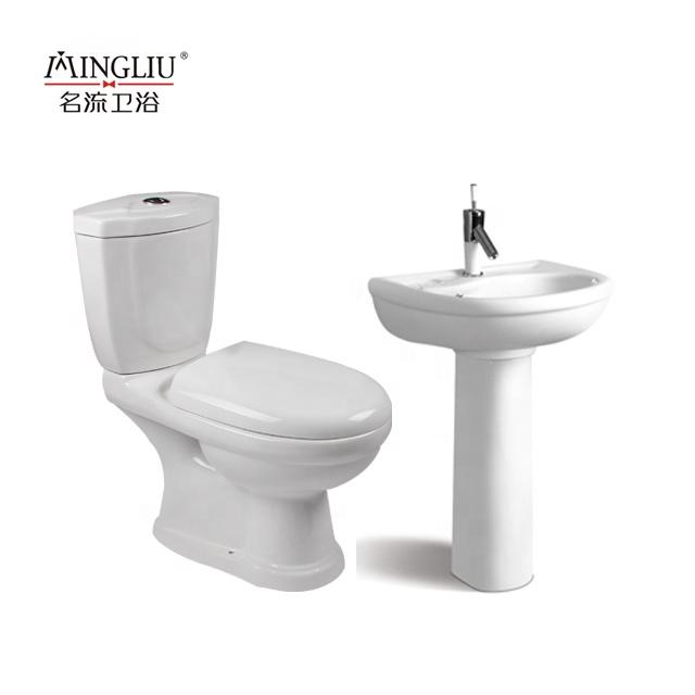 رخيصة أفريقيا wc p-فخ نيجيريا twyford المرحاض اثنين قطعة المياه خزانة مرحاض سيراميك عاء مجموعة سعر