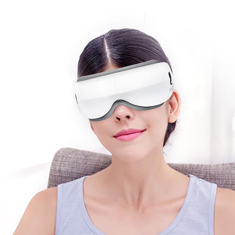 Здоровый отдых видение перезаряжаемая электронная сухих глаз уход за лицом маски, игрушка для снятия стресса, массажер