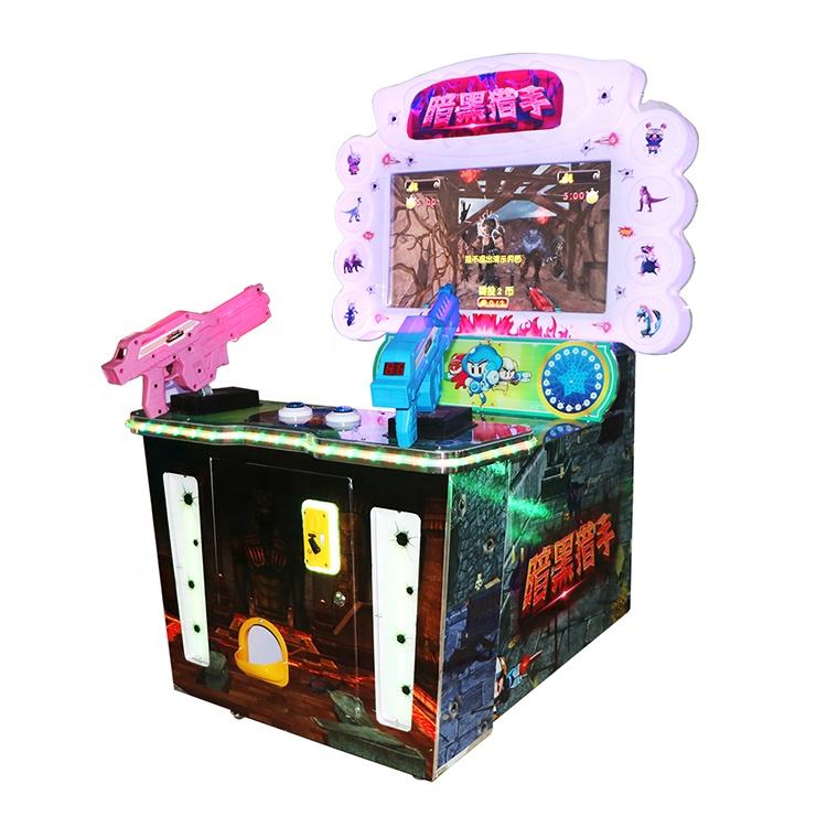 Детский Электронный игровой зал аркадная игра Темный Охотник 32 дюймовый двойной пистолет
