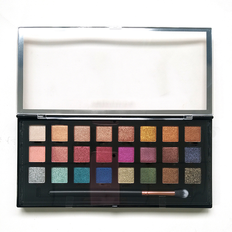 2020 Mineral Make-Up <span class=keywords><strong>24</strong></span> Farben Lidschatten Palette