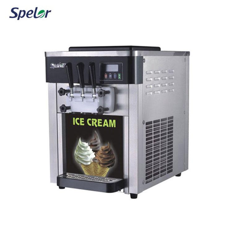 Refrigerante Gongly Máquina Gelato Sorvete Refrigerado A Ar
