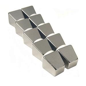 Китай Нео редкий магнит Пользовательские Неодимовые Дзен трапециевидные магниты для Лифт двигатели