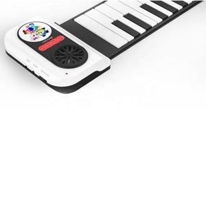 Sıcak satış esnek roll up elektronik yumuşak klavye katlanabilir 37 anahtar dijital piyano çin