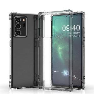 Nota 20 caso claro cojín de aire a prueba de golpes a prueba de esquina suave para Samsung Galaxy Nota 20 Ultra Note20 Plus
