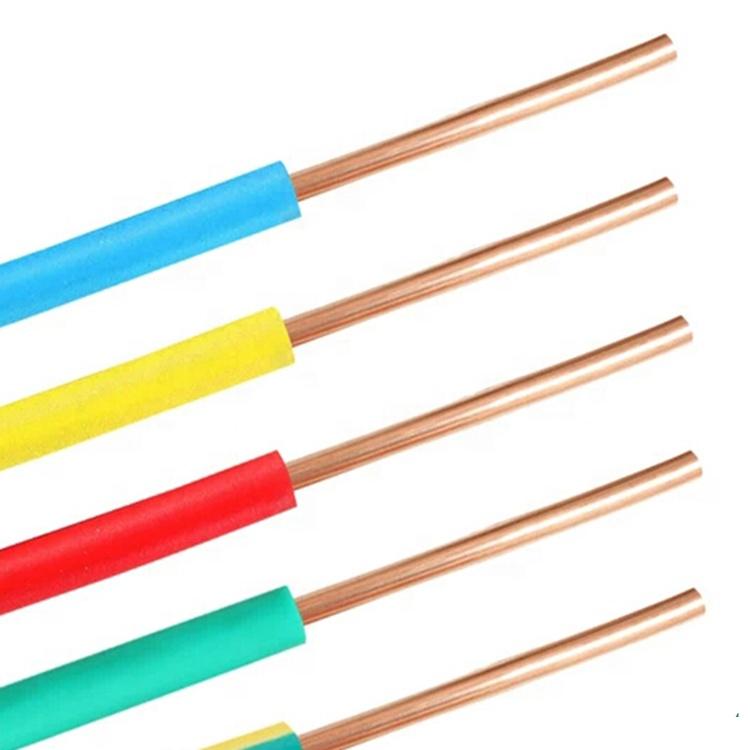 300/500v 450/750v 0.6/1 Kv 1 النواة الكهربائية سلك كابل 2.5