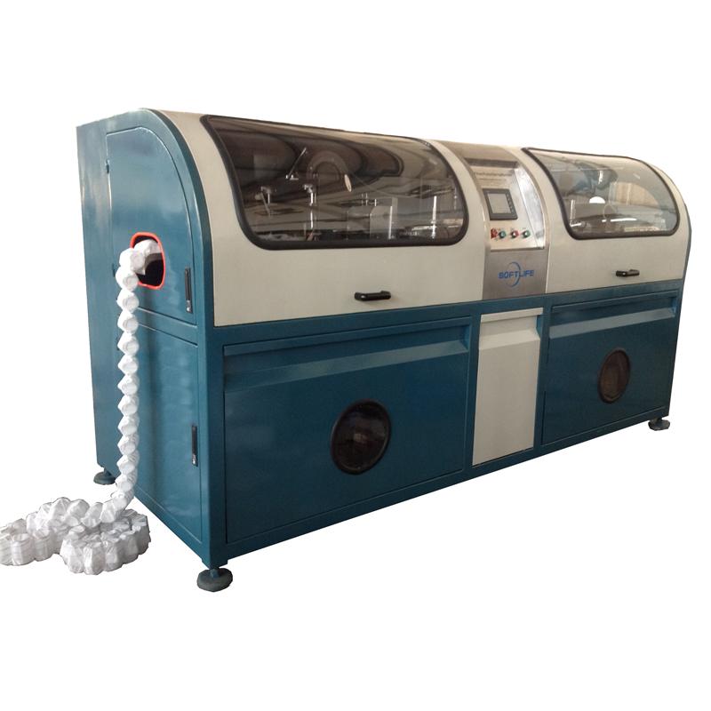 Üretici çin küçük şartname orta kaynak otomatik cep yay makinesi