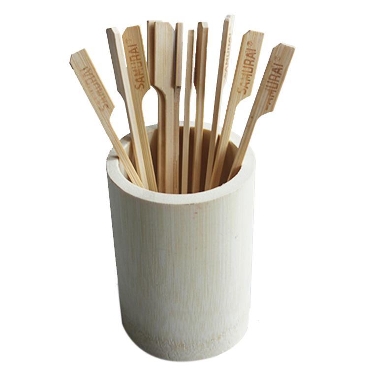 Оптовая Продажа Дешевая биоразлагаемая натуральная <span class=keywords><strong>бамбук</strong></span>овая трубка для кухонных инструментов