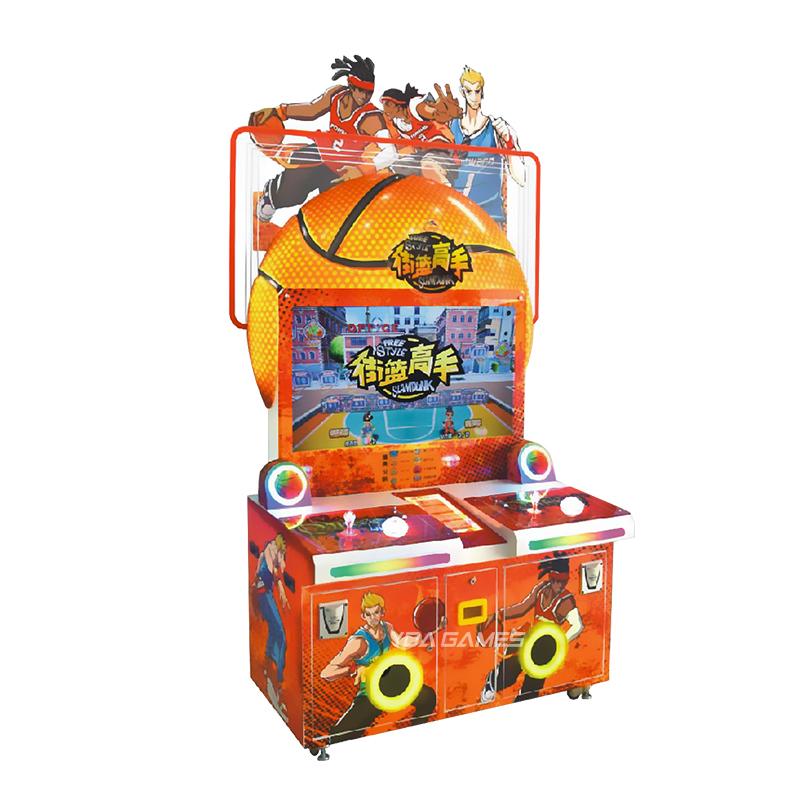 Style libre Slam Dunk ticket vidéo chaude de machine de jeu de machine de jeu de <span class=keywords><strong>basket</strong></span>-ball