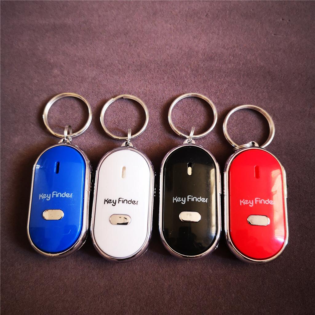 Led whistle anti verloren alarm schlüssel finder keychain