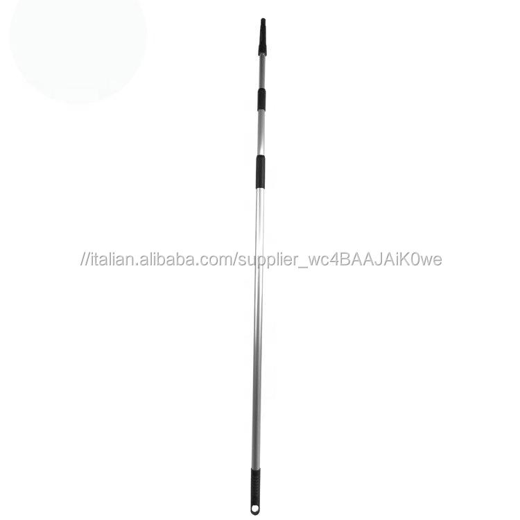 ESD 3.6 M Lunga Heavy Duty Telescopico <span class=keywords><strong>In</strong></span> <span class=keywords><strong>Alluminio</strong></span> Manico di Estensione <span class=keywords><strong>Pole</strong></span> Per Ragnatela Duster Spazzola Per La Pulizia
