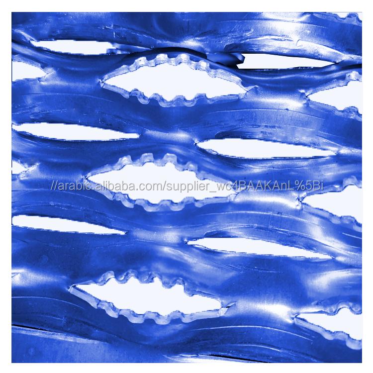 المجلفن التمساح الفم ثقب المضادة للانزلاق شبكة معدنية الألومنيوم