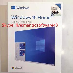 Windows 10 Home 한글 USB 정품 윈도우10 홈 FPP 설치 상품명Windows 10 Home ( FPP 한글 USB방식)