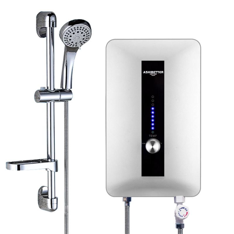 Heißer verkauf Niedrigen Preis Tankless Induct Instant Elektr Dusche Wasser Heizung Indien