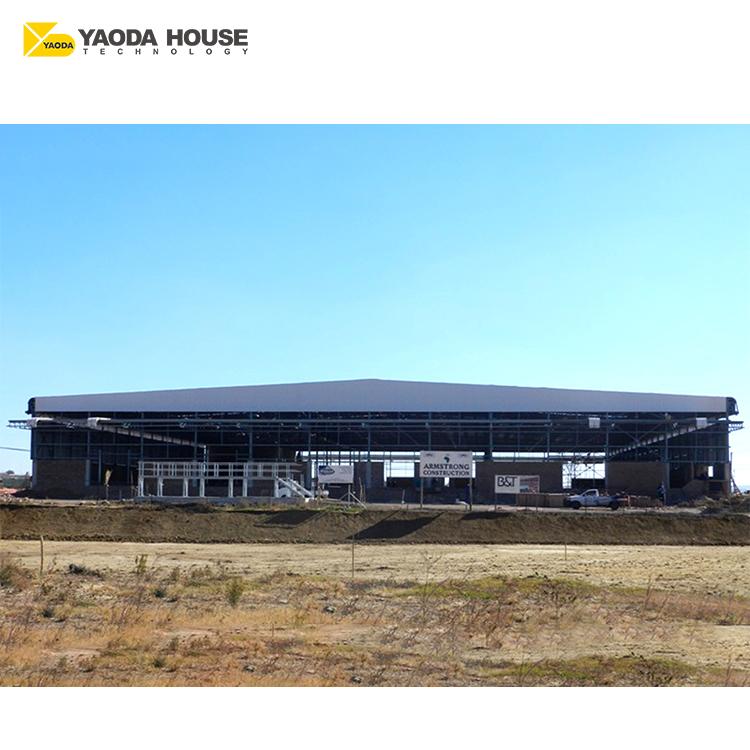 Ucuz büyük boy ev prefabrik prefabrik konteyner ambar depolama ruanda