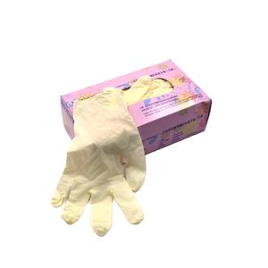 使い捨てのパウダーフリーの成人用安価なラテックス医療用外科用保護手袋