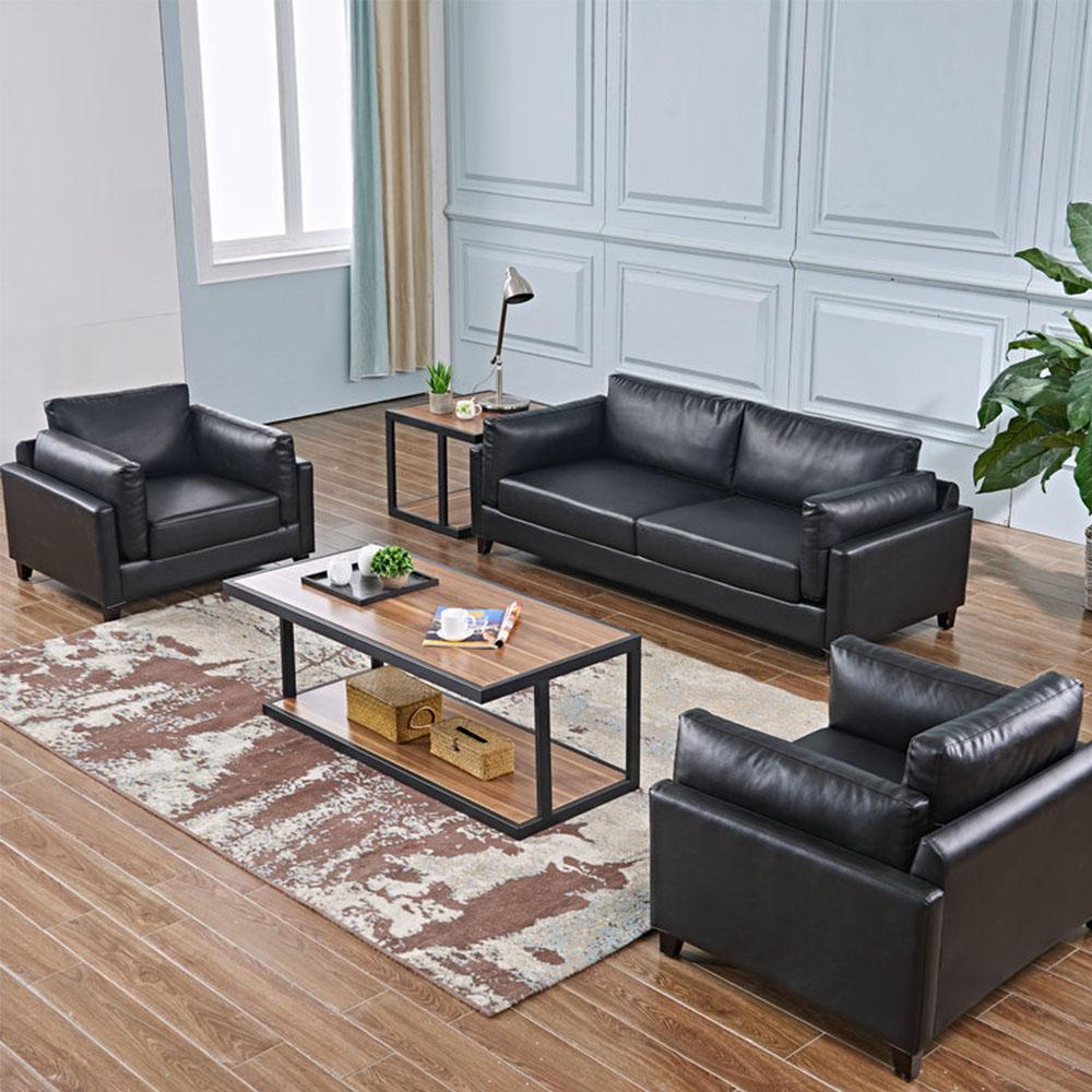 Líder eléctrico genuino de moda Oficina sofá reclinable nórdicos de lujo luz contratado de oficina de cuero sofá