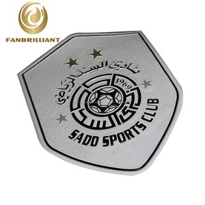 SADD esporte clube 3d tpu silicone patch para roupas