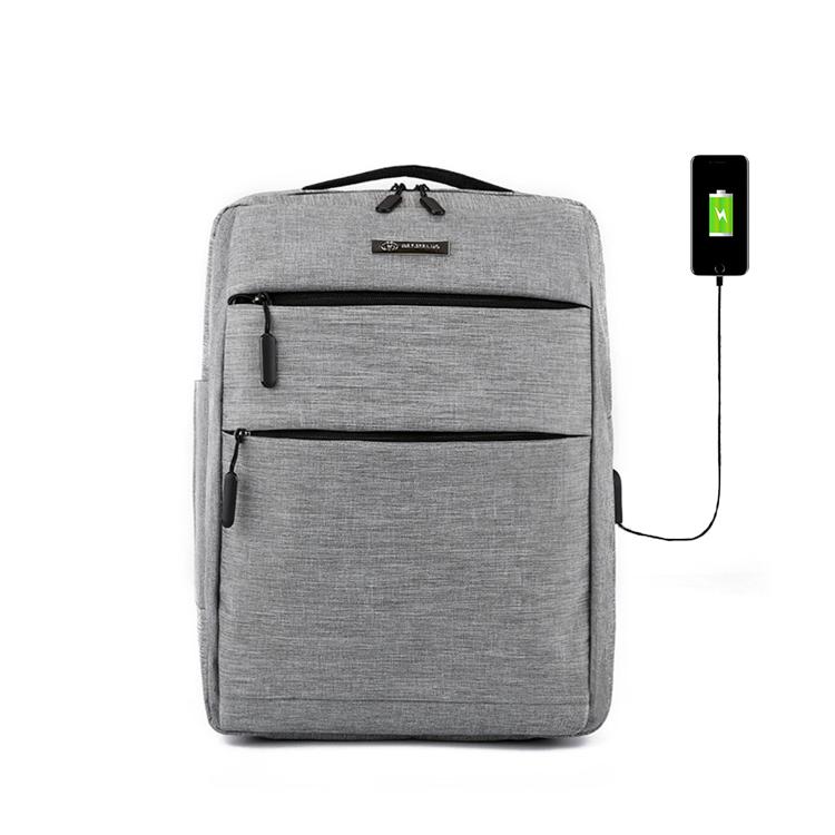 卸売カスタムロゴユニセックス USB 充電バックパックバッグ黒ハード旅行ラップトップ bagpack バックパック
