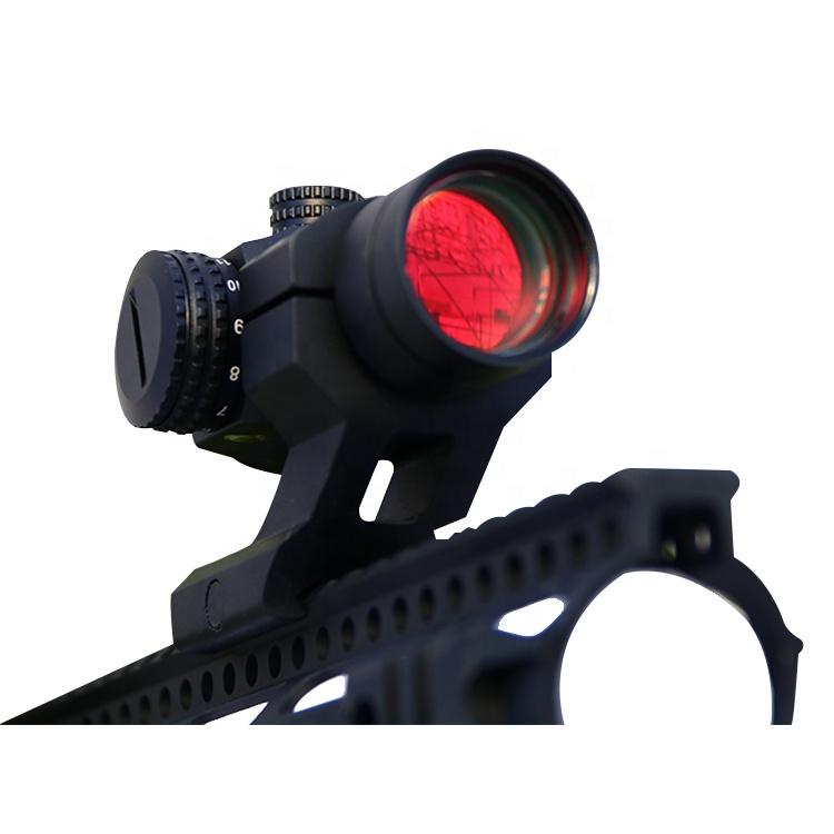 متوفر في 2 MOA نقطة حجم بندقية اصطدام منظر نقطة حمراء للبندقية