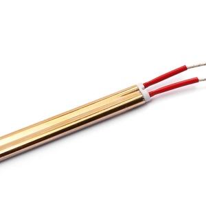 1KW 220V 1180 мм половина Позолоченные инфракрасных красных подогревательная лампа для авто кузова выпечки краски