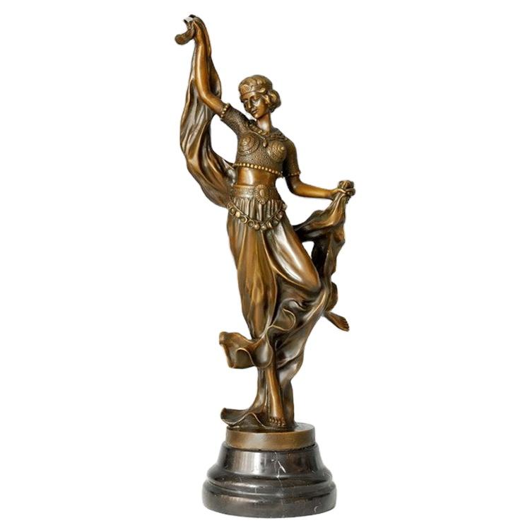<span class=keywords><strong>Interior</strong></span> decor dancing girl escultura <span class=keywords><strong>de</strong></span> <span class=keywords><strong>bronze</strong></span> fundido