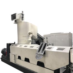 خط الإنتاج إعادة واستعداد نفايات البلاستيك من الفيلم صنع الحبيبات / آلة الإعادة وصنع الحبيبات عالية السرعة وحماية البيئة