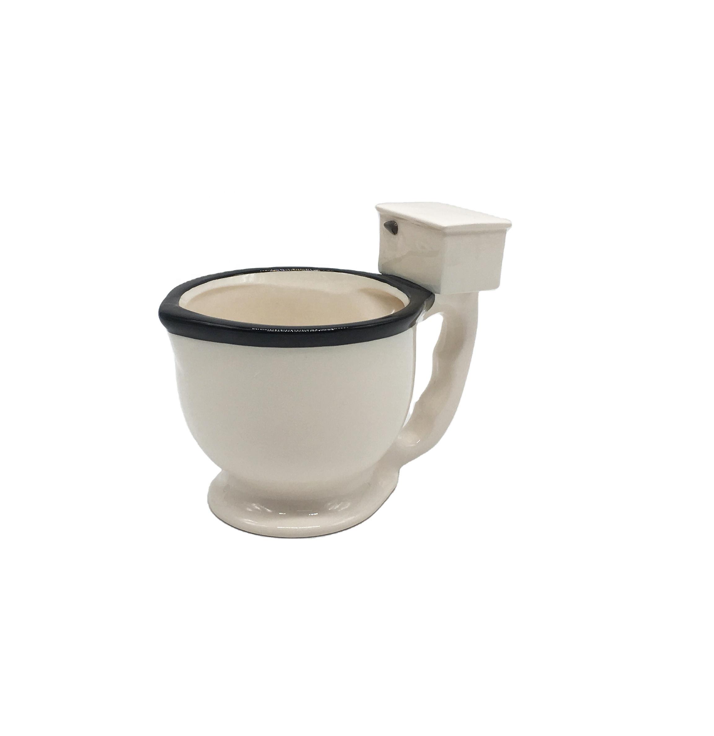 Jogo Do Presente da família Decorativo Grande Vaso Sanitário de Cerâmica Canecas de Café