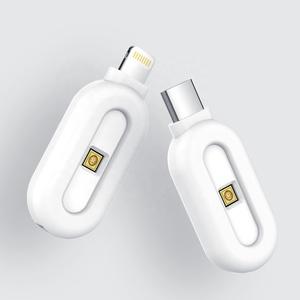 뜨거운 판매 자외선 LED 휴대 전화 미니 휴대용 uv 살균기 미니 uvc 살균기