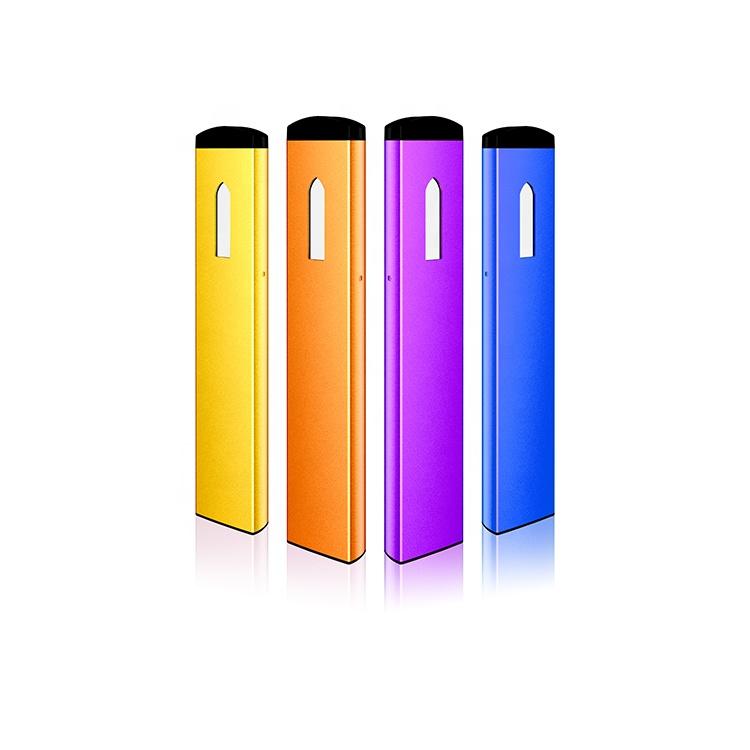 新スリム CBD オイル吸うペン 280Amh 使い捨て蒸気を吸うバッテリー CBD 使い捨てペン