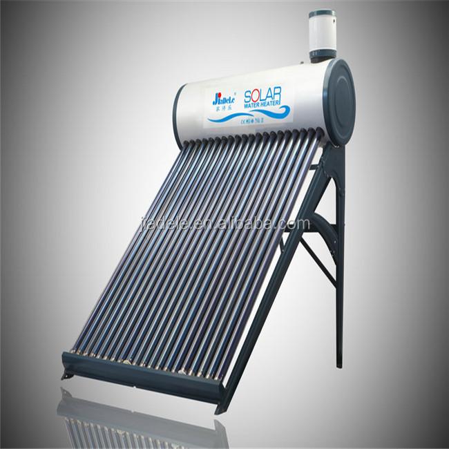 Yeni tasarım vakumlu tüp Sunrain güneş enerjili sıcak SU ISITICI
