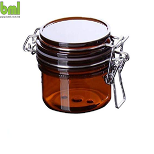 Versiegelt Kosmetische Jar Flaschen mit Innen Cap Make-Up Gesichts Körper Maske Lagerung Hermetische Behälter Topf mit loc