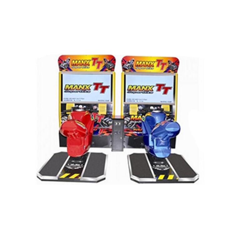 Commercio all'ingrosso 3D Auto Da Corsa Simulatore Arcade Gettoni Macchina Del Gioco Elettrico per la Vendita