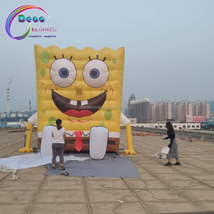 Event Cartoon Aufblasbare Angepasst Aufblasbare SpongeBob Für Event