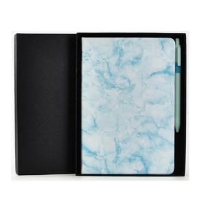 Nouveau marbre cahier avec stylo conférence cadeau articles pour 2019 bureau