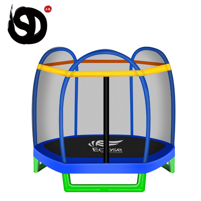 Ticari açık bahçe spor yetişkin çocuklar için oyun trambolin parkı