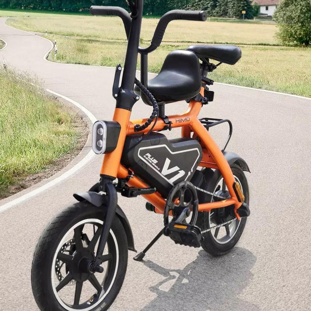 Doppio Freno A Disco di Controllo 36V Batteria Al Litio 7.8Ah 14 Pollici HIMO V1 Più Mini Pieghevole Bici Elettrica