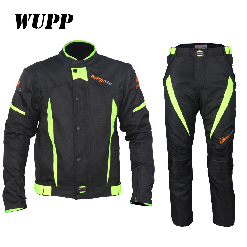 Ce Approved Chain Handbag Mens Moto Biker Breathable Motorcycle Safety Jacket & Pant Suit